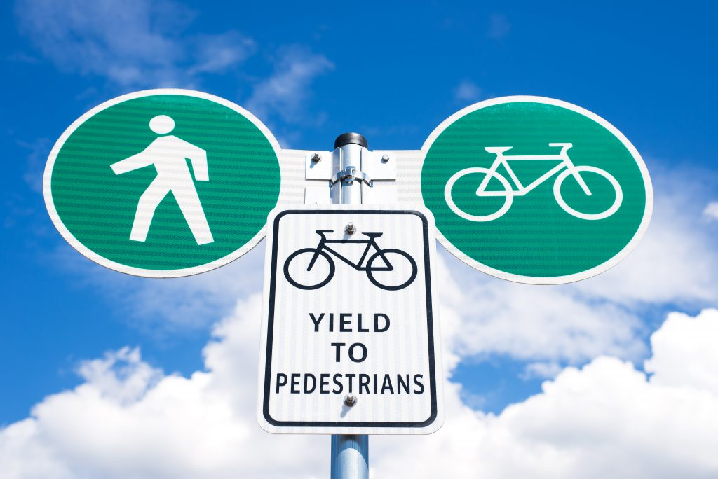 Bicyclists are expected to follow the rules, too.